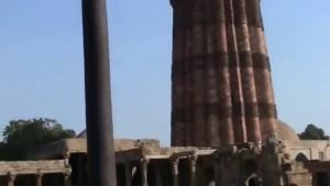Delhi iron pillar